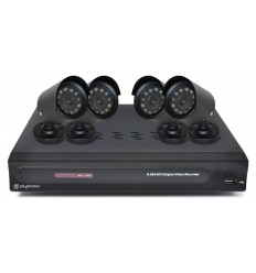 DVR 4CMOS Kit 500GB HD 8 Kanalen