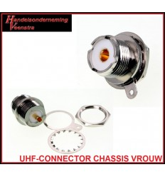 UHF-CONNECTOR CHASSIS ROND