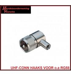 UHF CONN HAAKS VOOR 5MM
