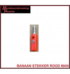 Banaan stekker Rood Man