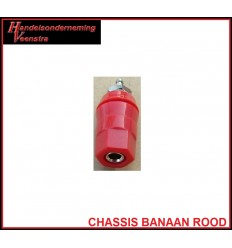 Chassis Banaan Rood 30a