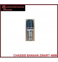 Chassis Banaan Zwart 4mm
