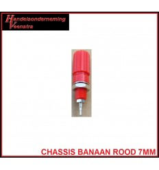 Chassis Banaan Red 7mm