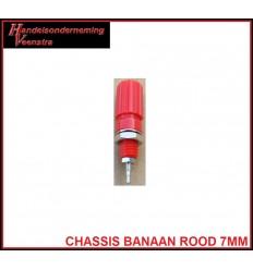 Chassis Banaan Rood 7mm