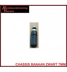 Chassis Banaan Zwart 7mm
