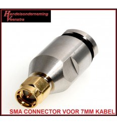 Sma connector voor 7mm kabel