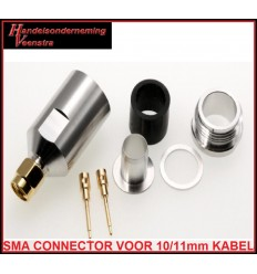 connector voor 10/11mm kabel