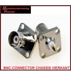 BNC-CONNECTOR CHASSIS SQUARE