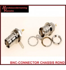 BNC-CONNECTOR CHASSIS ROUND