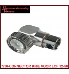 7-16-CONNECTOR KNIE LCF 12-50