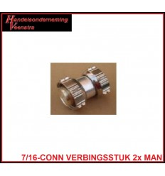 7-16-CONNECTOR VERBINGSSTUK MAN