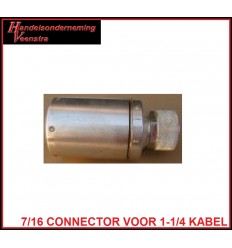 7/16-male connector voor LCFS114-50JA Cellflex coax kabel