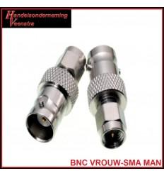 SMA MAN-BNC VROUW