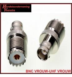 BNC VROUW-UHF VROUW