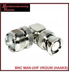 BNC MAN-UHF VROUW (HAAKS)