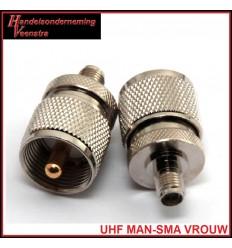 UHF MAN-SMA VROUW