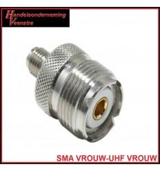 SMA VROUW-UHF VROUW
