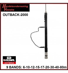 9-band mobile antenne