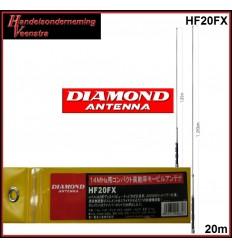 Mobiele antenne Hf band 20m.