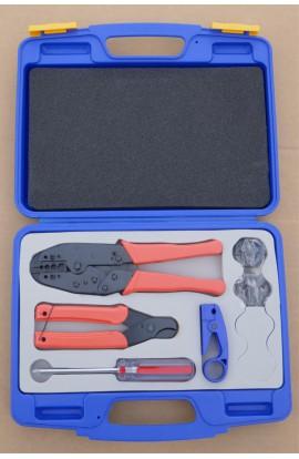 Crimp case DL 330 K for (almost) all crimp plugs