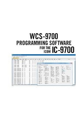 WCS-9700 Programming Software and RT-42 cable for the Icom IC-9700