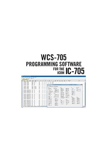 WCS-705 Software IC-705