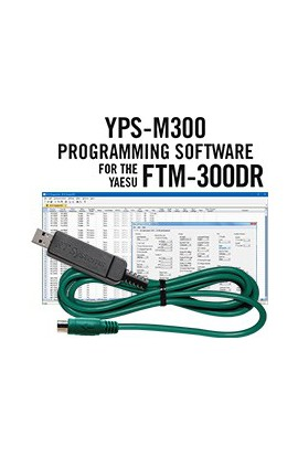 YPS-M300 PROGRAMMING SOFTWARE AND USB-77 CABLE FOR THE YAESU